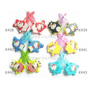 K426-443 Hello Kitty with her friends Series Hair tie Hair clip