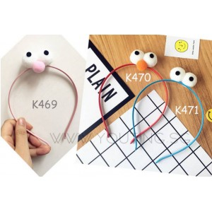 K467-471 Elmo & Cookie Master Hair Band