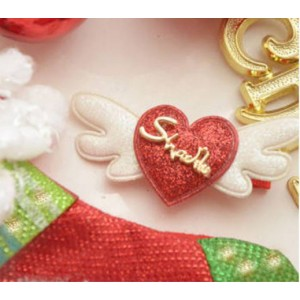 K821 Angel Heart Hair Clip