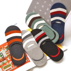 SA036-040 Anti-slip Strip socks for him