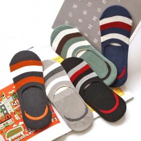 SA036-040 Anti-slip Strip socks for him