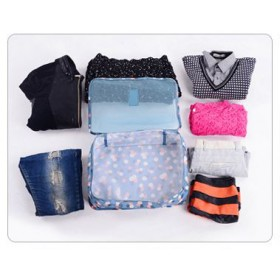 KR100-105 6pc set Travel bags and pouches