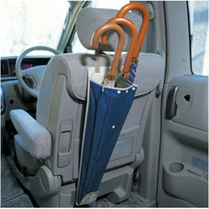 KR127 Car back seat umbrella holder